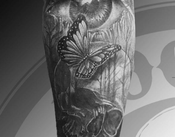 Tatouage réaliste bras